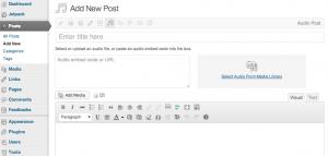 Insertando un nuevo video en WordPress 3.6